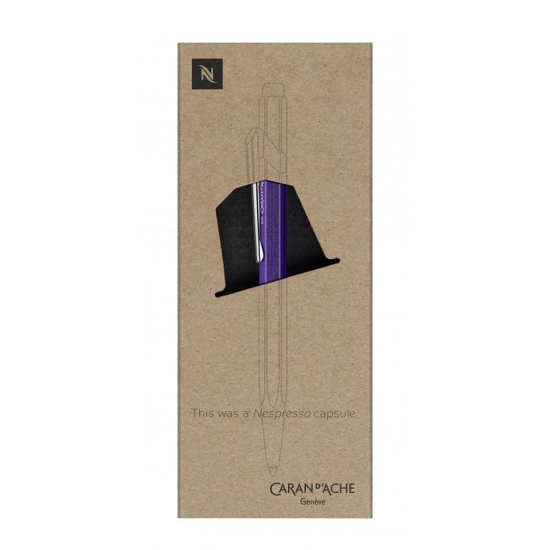 849 Nespresso 第三代原子筆|深紫