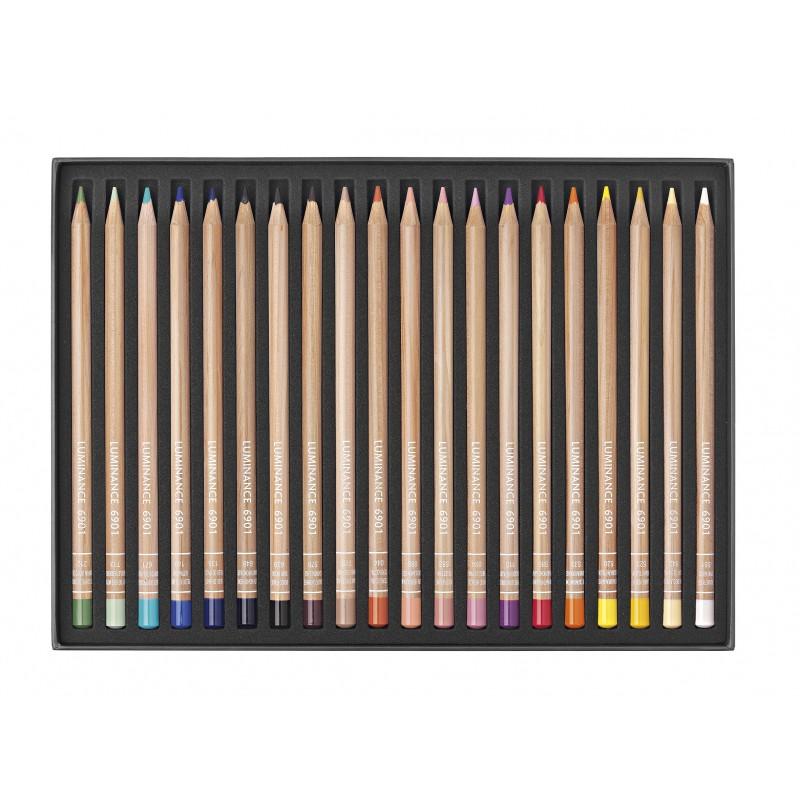 Luminance 6901®永久耐光性木顏色|全新 20 色