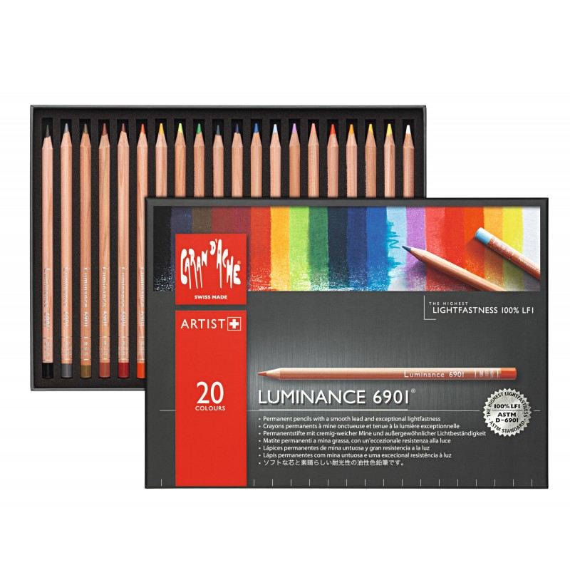 Luminance 20色永久耐光性木顏色