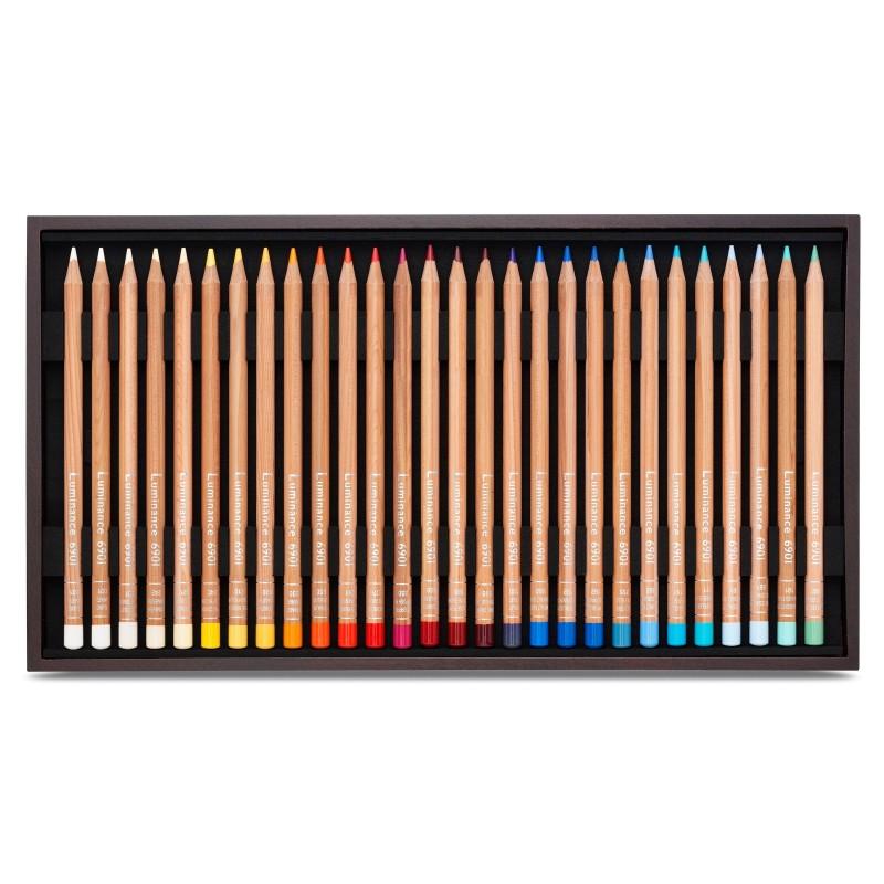 Luminance 76色永久耐光性木顏色(木盒)
