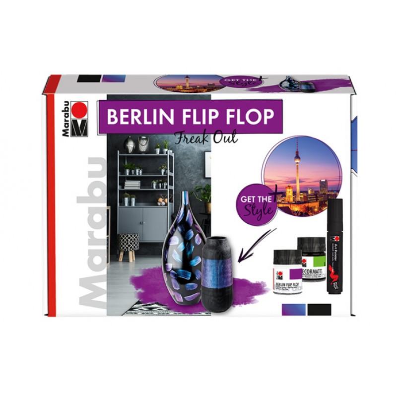 Berlin Flip Flop│陰陽雙色塗料