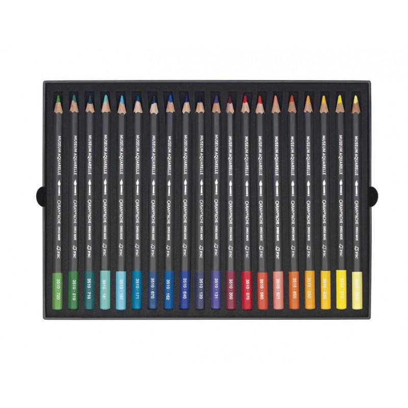 Museum 40色水彩芯顏色筆