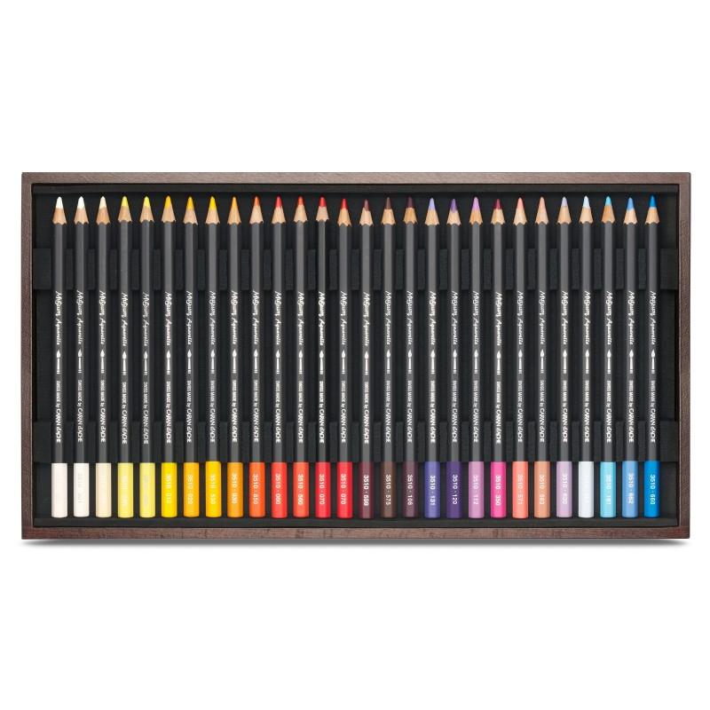 Museum 76色水彩芯顏色筆(木盒)
