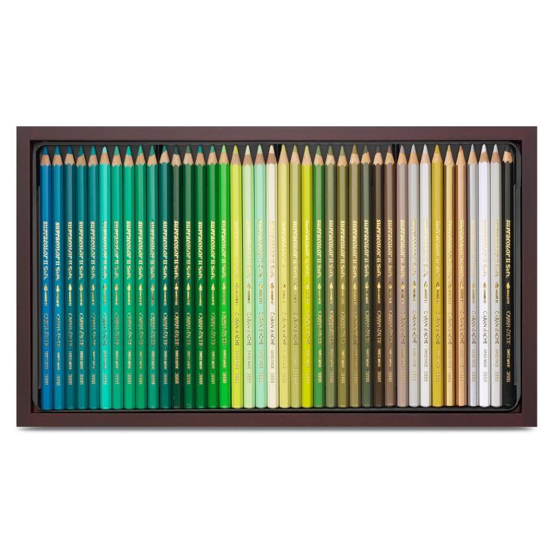 Supracolor 120色水溶性木顏色 (木盒)
