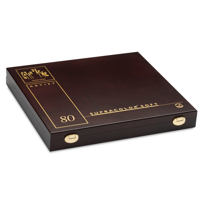Supracolor 80色水溶性木顏色 (木盒)