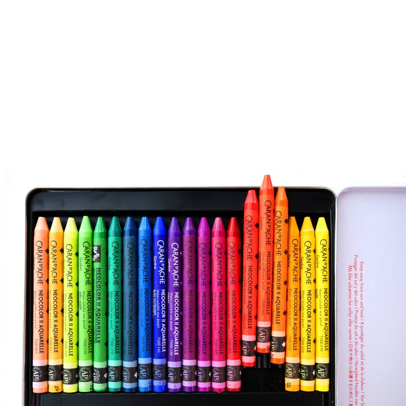 Neocolor II 15色水溶性蠟筆